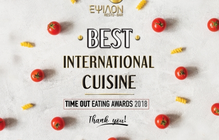 WINNERS OF TIME OUT EATING AWARDS 2018